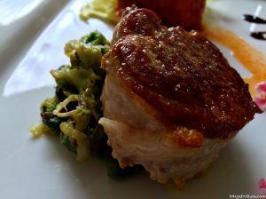 Filetto di maiale e scorole